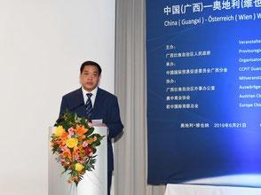 Li Changguan, Präsident des CCPIT Guangxi