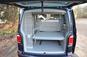 Volkswagen California Ocean Camper Platzwunder