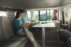 Volkswagen California Ocean Camper Wohnzimmer