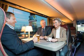 Unger-Reisen Bistro-Bus Skylliner Reisegenuss