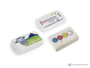Gomme personalizzate  - gomme per cancellare - gomme da cancellare