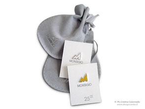 Spilla in argento e argento con smalto - custom