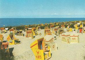 Shop-Angebot: Ansichtskarte - Cuxhaven - Strand  - Endpreis: 9,99 €