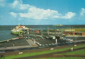 Shop-Angebot: Ansichtskarte - Cuxhaven - Fährhafen - Endpreis: 9,99 €