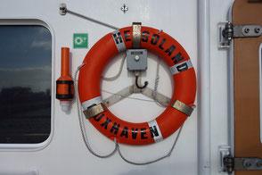Rettungsring der Helgoland