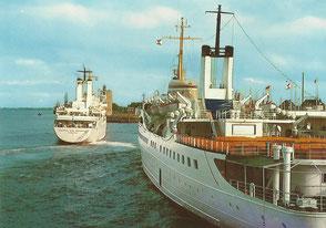 Shop-Angebot: Ansichtskarte - Seebäderschiffe  - Endpreis: 9,99 €