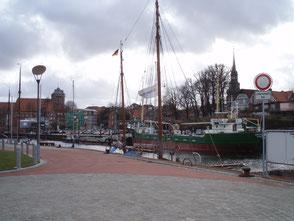 Der Stader Hafen (Salztorvorstadt).