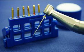 Ausstattung für maschinelle Wurzelkanalaufbereitung