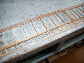 Tragfläche | Holm-Rippen-Bauweise | Holzbauweise | Modellbau