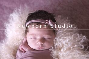 newborn studio fotografie