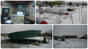 Missile base in Ukraine
