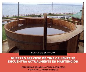 Tina Caliente Hostal Mundo Nuevo Ancudo Chiloe