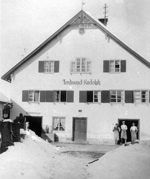 Gebäude des Steinmetzbetriebs