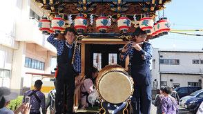 お囃子派遣・袋井北祭りの画像1
