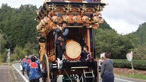 お囃子派遣・森町乙丸秋祭りの画像2