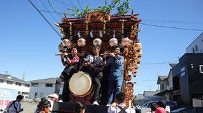 お囃子派遣・袋井北祭りの画像2