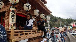 お囃子派遣・春野町気田秋祭りの画像2