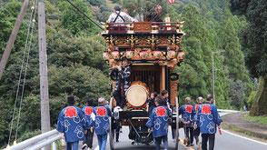 お囃子派遣・森町乙丸秋祭りの画像3
