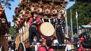 お囃子派遣・三倉許禰神社例祭の画像3
