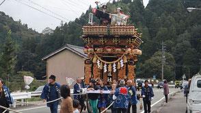 お囃子派遣・森町乙丸秋祭りの画像1