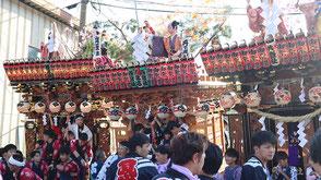 お囃子派遣・三倉許禰神社例祭の画像1