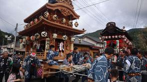 お囃子派遣・春野町気田秋祭りの画像1