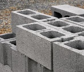 blocchetto di calcestruzzo normale