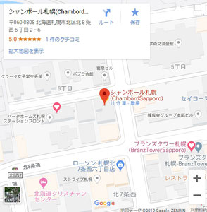 Google_Map_ChambordSapporo
