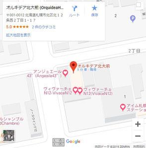 Google_Map_OrquídeaHokkaidoUniversityFirst