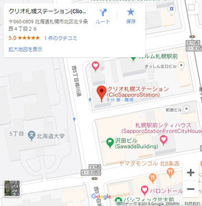 Google_Map_ClioSapporoStation