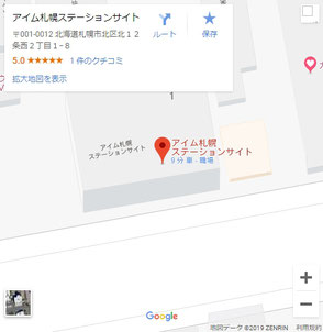 Google_Map_I 'mSapporoStationSite