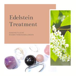 Edelstein-Treatment für eine schöne Haut