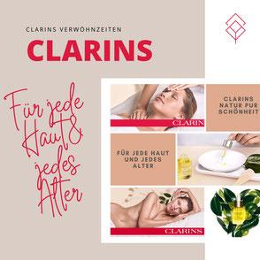Clarins Behandlung für jede Haut