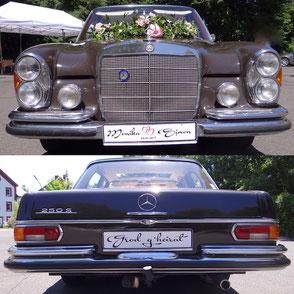 Oldtimer Hochzeitsauto mieten Fischer-Classic 1