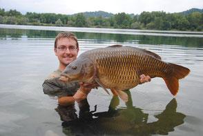 Record au lac privé