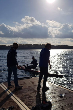 ROWonAIR im Härtetest bei der Ratzeburg Rowing Challenge 2020