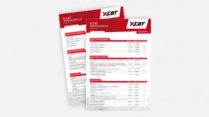 Preisliste XCAT Deutschland