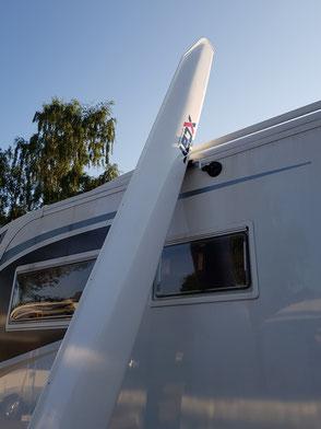 XCAT | Autodachtransport Segelboot auf Wohnmobil oder Wohnwagen
