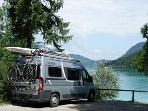 Segelkatamaran für Dachtransport Wohnmobil & Wohnwagen