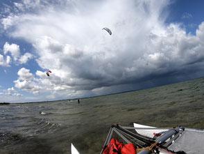 XCAT Kitesegeln | auf der Ostsee bei Bottsand