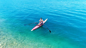 ROWonAIR | (aufblasbare) SUP & Airskiff klassisch rückwärts rudern