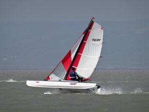 XCAT Sail | Katamaran auf einem Rumpf segeln