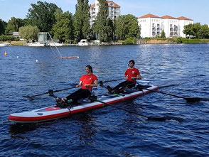 ROWonAIR | Red Paddle Dragon Doppelzweier RowVista Vorwaertsrudern