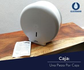 CONTENIDO DEL DESPACHADOR DE PAPEL HIGIÉNICO INSTITUCIONAL JOFEL MINI AZUR PH51001