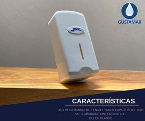 JABONERA RELLENABLE JOFEL SMART AC27050