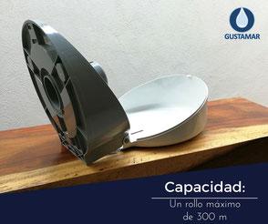CAPACIDAD DEL DESPACHADOR DE PAPEL HIGIÉNICO INSTITUCIONAL JOFEL MINI AZUR PH51001