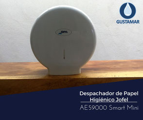 DISPENSADOR DE PAPEL HIGIÉNICO INSTITUCIONAL JOFEL  MINI SMART AE59000