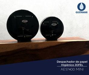 DISPENSADOR DE PAPEL HIGIÉNICO INSTITUCIONAL JOFEL MINI FUTURA AE57400