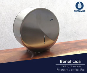 BENEFICIOS DEL DESPACHADOR DE PAPEL HIGIÉNICO INSTITUCIONAL JOFEL FUTURA INOXIDABLE MINI AE25000