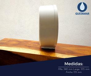 despachador de papel higienico jofel ae58000